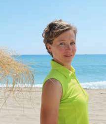 Aurinkorannalla, terveyden ammattilaisena