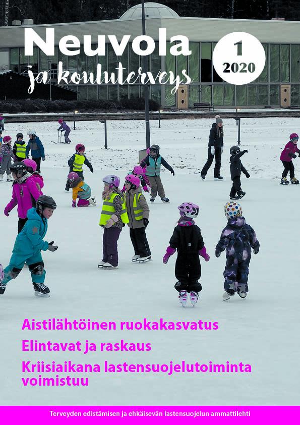 Neuvola ja kouluterveys -lehden 1/2020 kansikuva