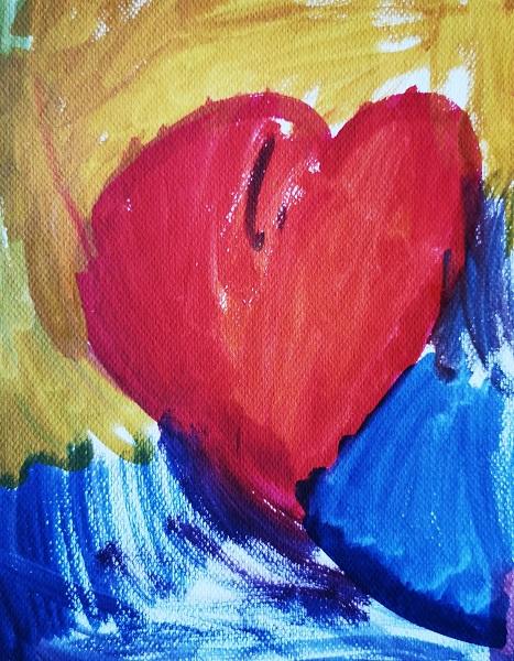 Sydänpiirustus